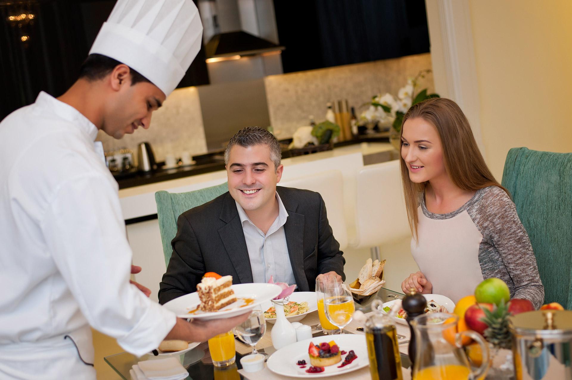 Hotel gallery damac maison dubai mall street hotel for A la maison personal chef service