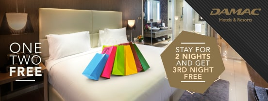 STAY 3 NIGHTS AND GET 1 FREE.
