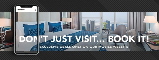 Exclusive deals on mobile website